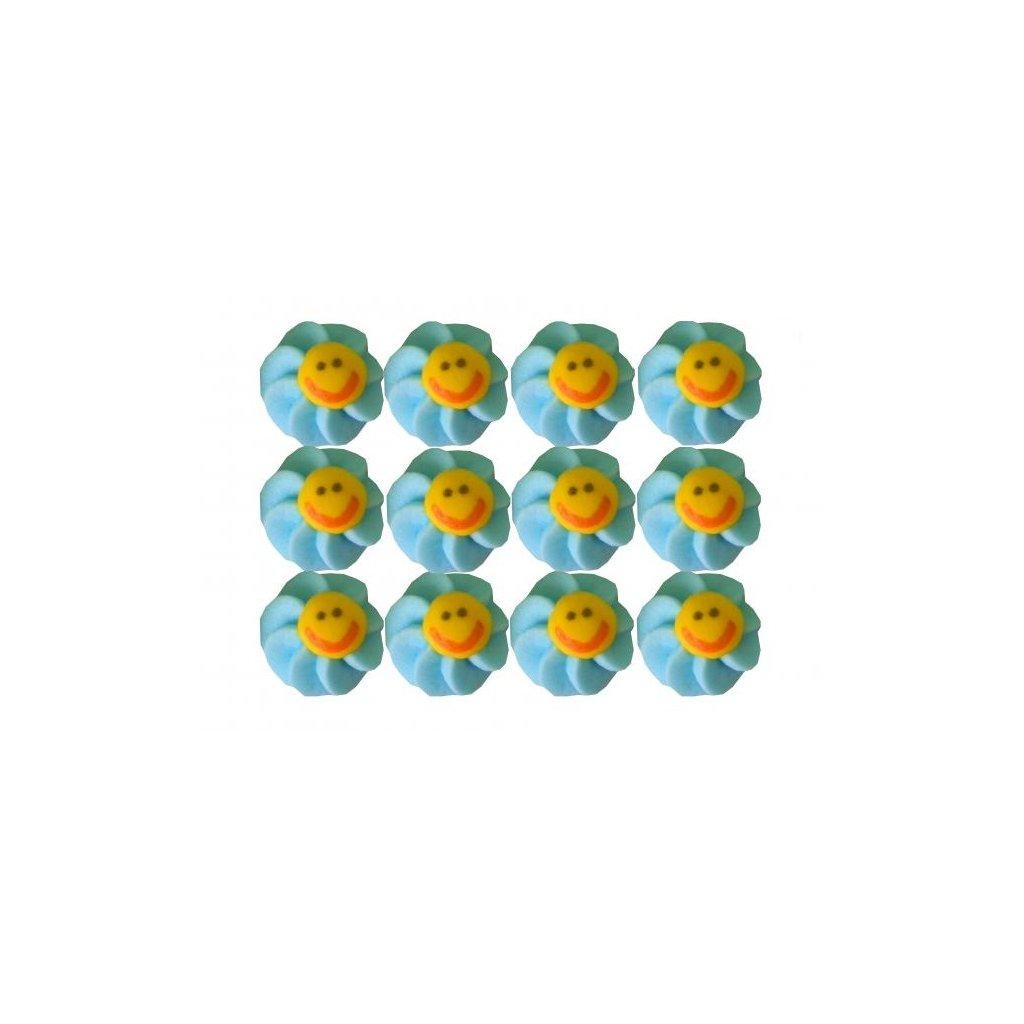 cukrove dekorace slunicko modre