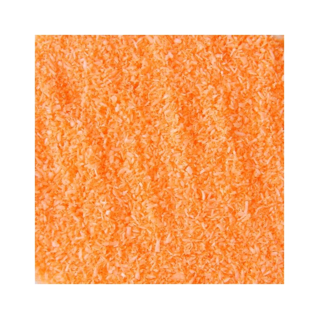 Strouhaný - barvený kokos: oranžový 50g