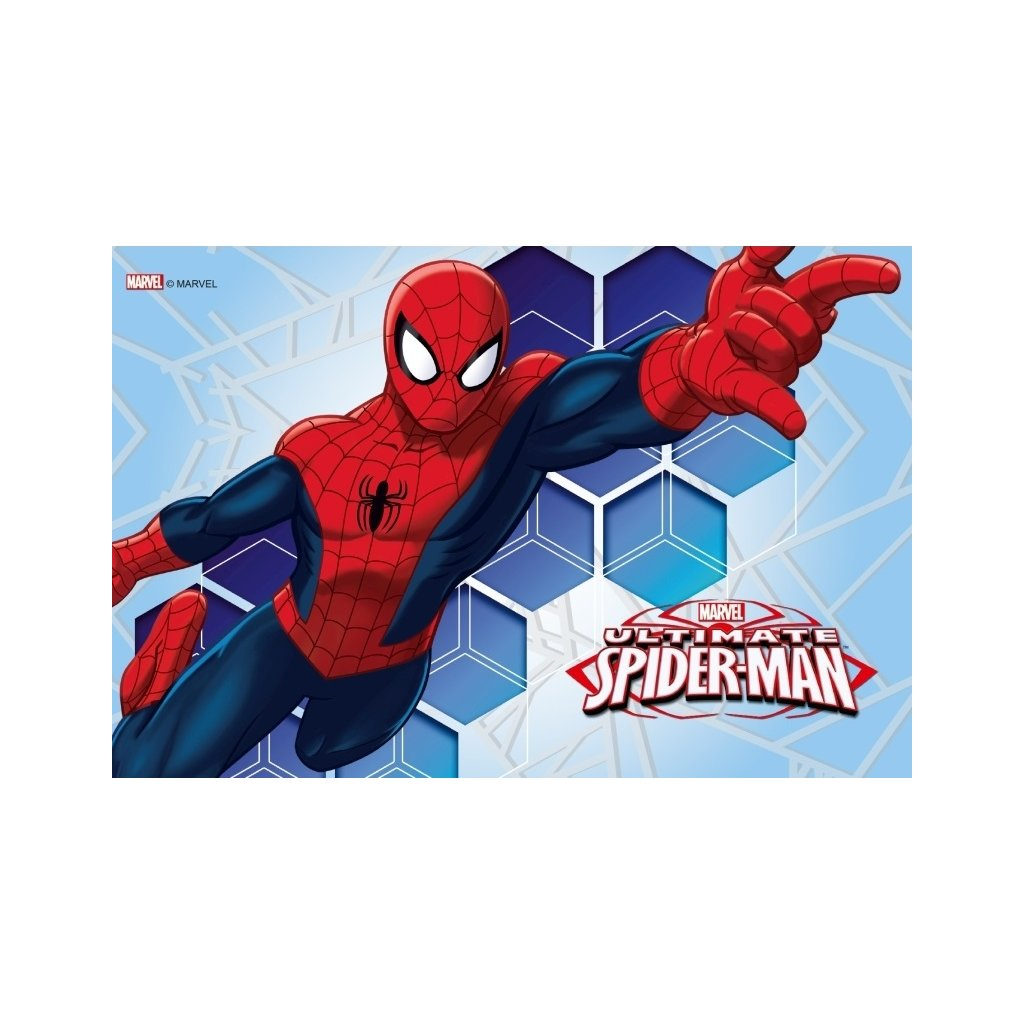 oplatek na tort spiderman nr 22 20cm x 30cm