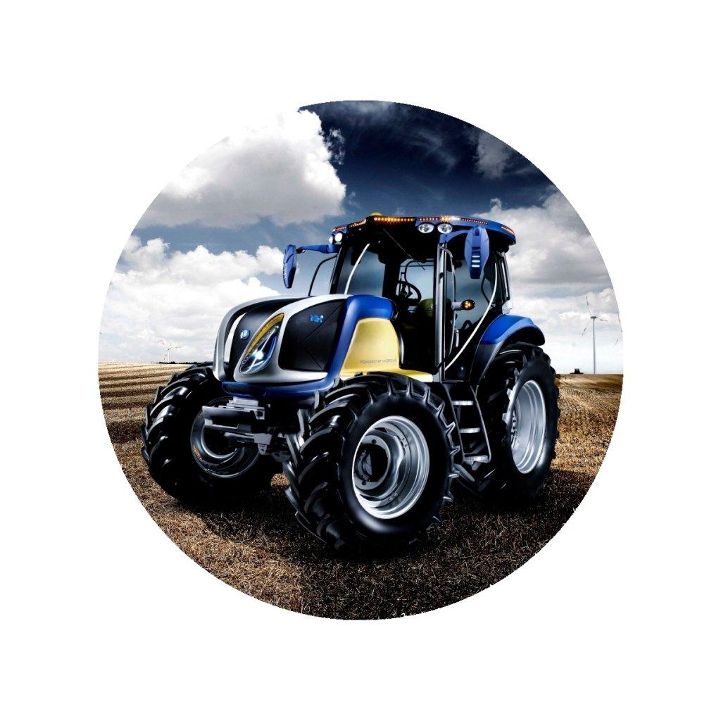 oplatek na tort traktor 2 20cm