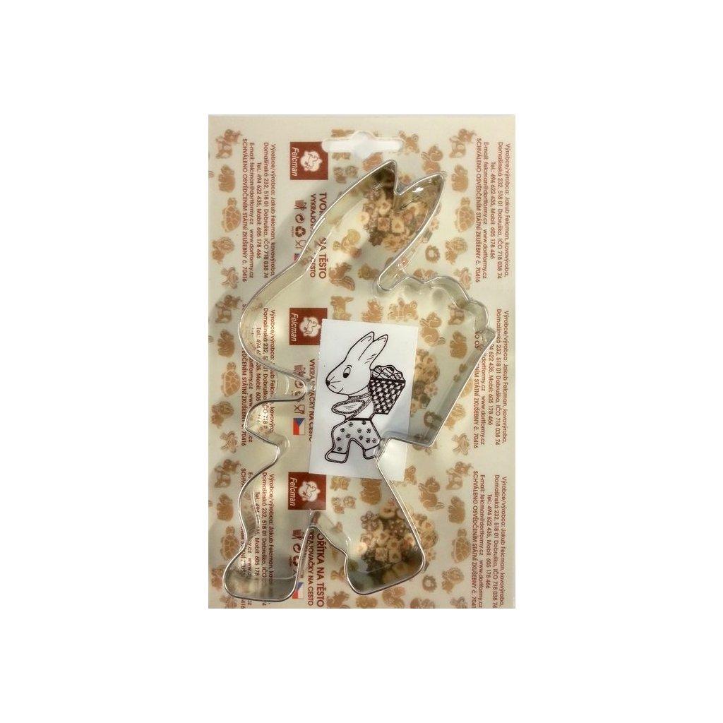 Vykrajovátko FELCMAN: Zajíc s nůší 15 cm