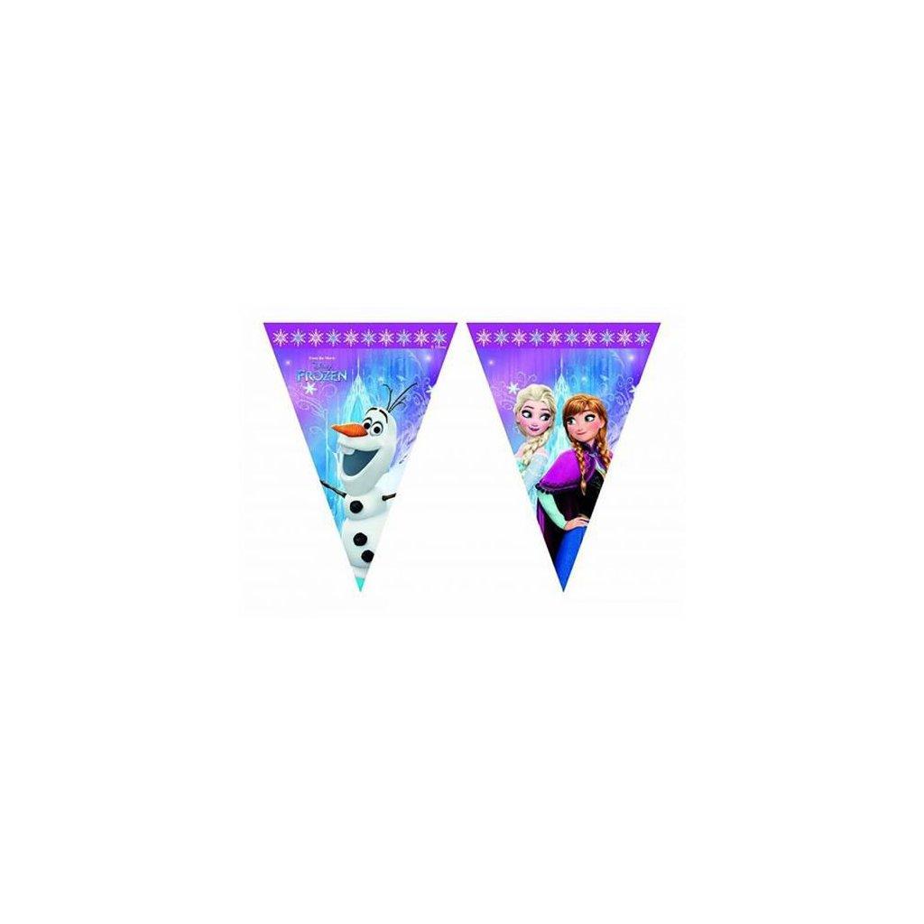 Vlaječková girlanda Ledové království - Severní záře 230 cm