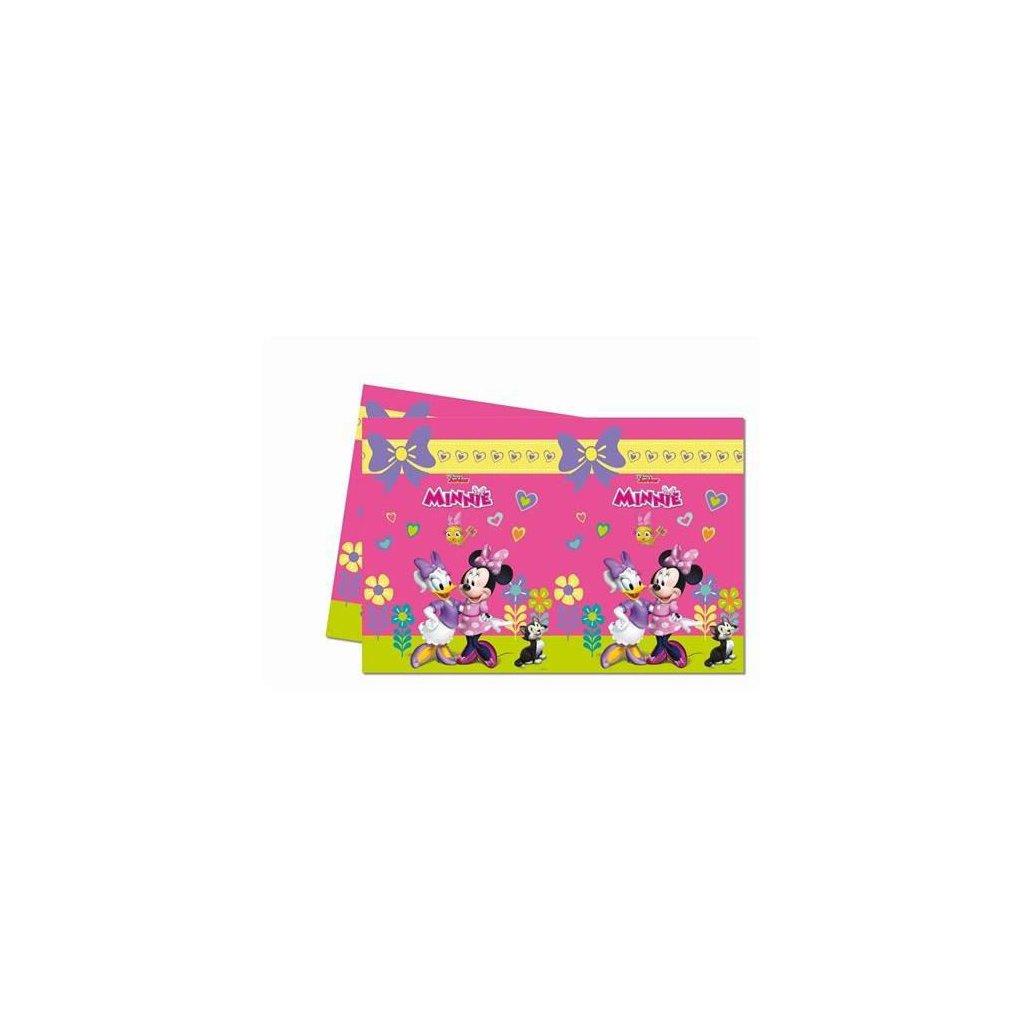 Plastový party ubrus Minnie Happy Helpers 120x180 cm