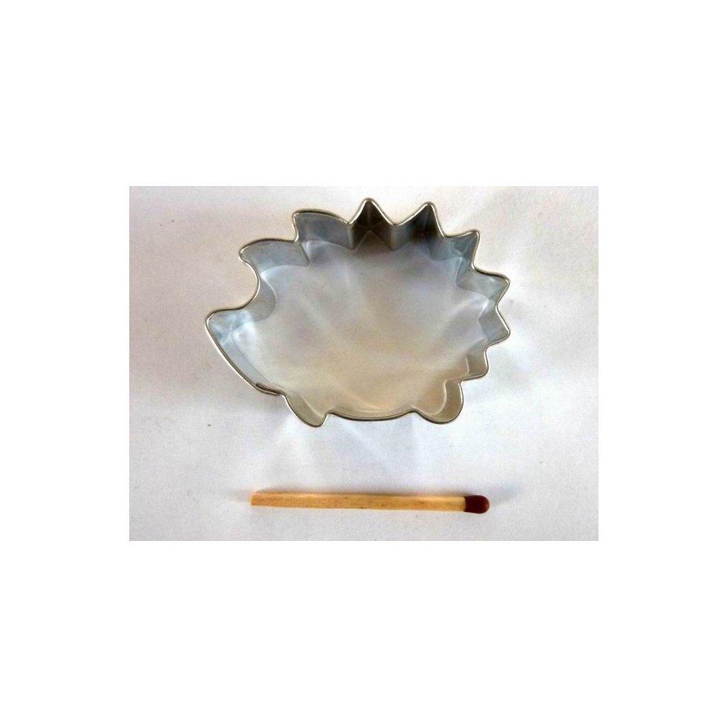 Vykrajovátko: ježek 3,5 x 4,5 cm