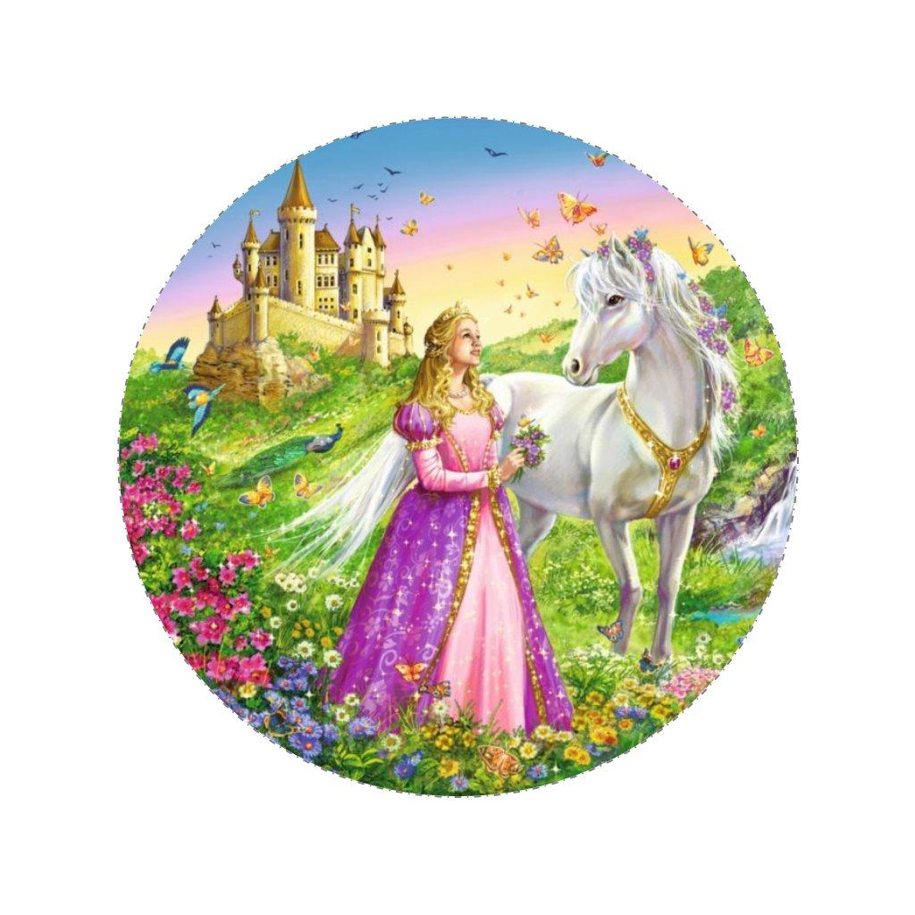 38751 obrazek na jedlem papiru princezna