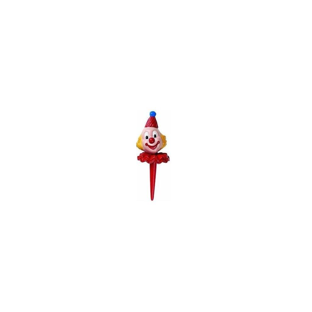 Nejedlá dekorace: KLAUN - červený
