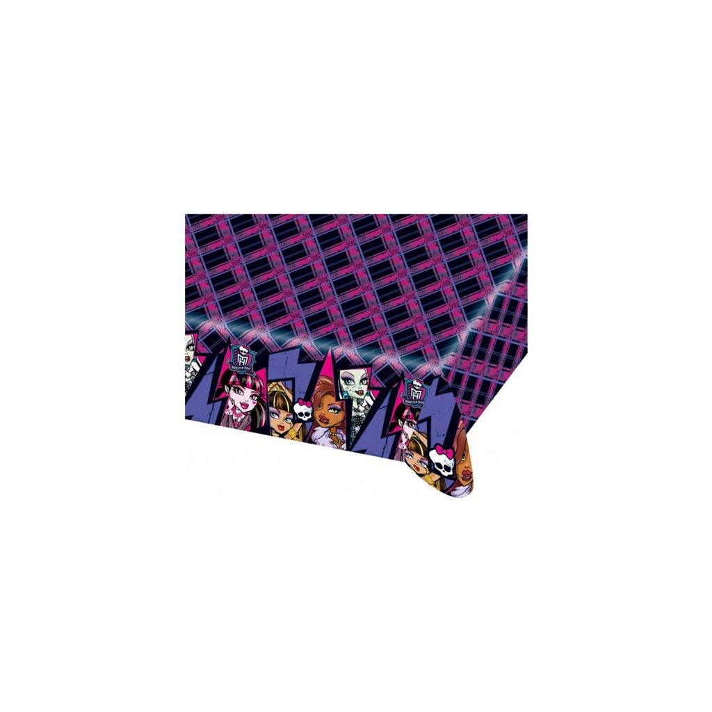 Plastový party ubrus Monster High 2 120 x 180 cm