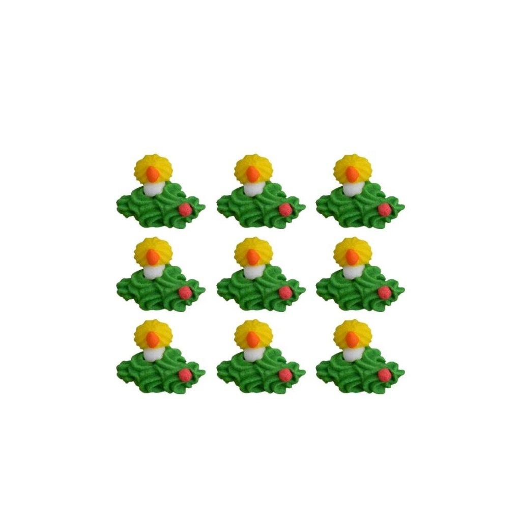 cukrova vanocni dekorace platicko 4