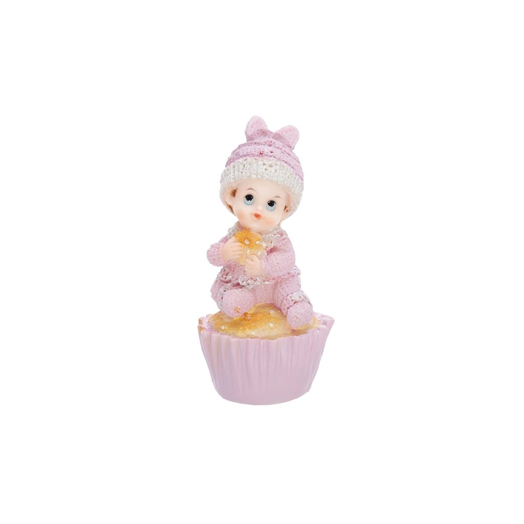figurka holcicka v na muffinu