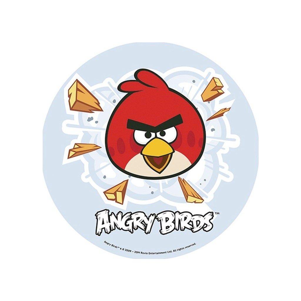 oplatek na tort angry birds nr 2 21cm