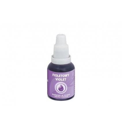 Airbrush barva tekutá Food Colours Violet (20 ml) Fialová