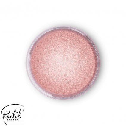 Jedlá prachová perleťová barva Fractal - Dream Rose (2,5 g)