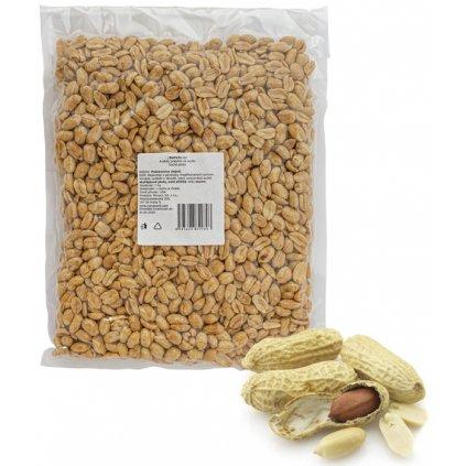 Arašídy pražené na sucho 1 kg/sáček vakuo