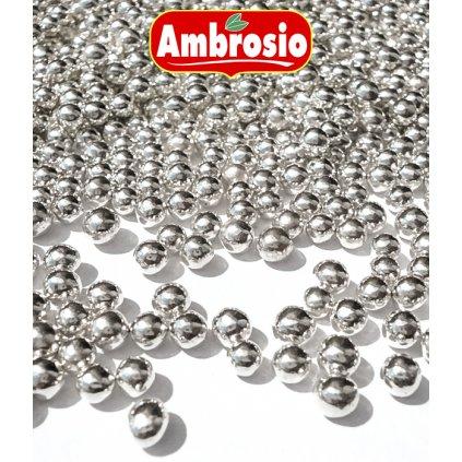 Cukrové kuličky I (stříbrné) 50 g/dóza