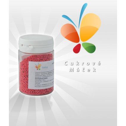 Cukrový máček (červený) 50 g/dóza