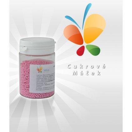 Cukrový máček (růžový) 50 g/dóza