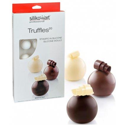 Forma silikonová design (15ks truffle malé) 15x20ml