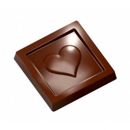 Forma na pralinky (srdce tabulka 5,2g) 3x7 tvarů/forma