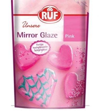 Zrcadlová poleva růžová 100g - RUF