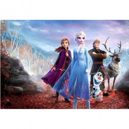 Jedlý papír Elsa - Frozen II - Ledové království 2 | HRANATÝ (průměr formát A5)