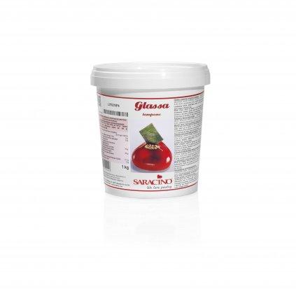 Glazura malinová 1kg - Saracino