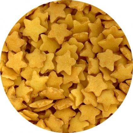 Cukrové hvězdičky zlaté (50 g)