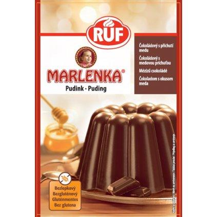 MARLENKA - Čokoládový puding, bez lepku 1ks 42g