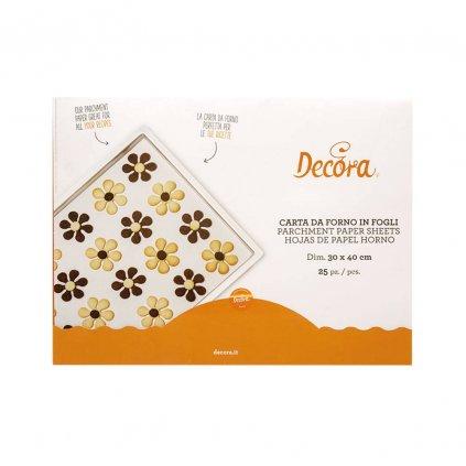 Pečící papír na pečení 30x40cm 25 archů - Decora