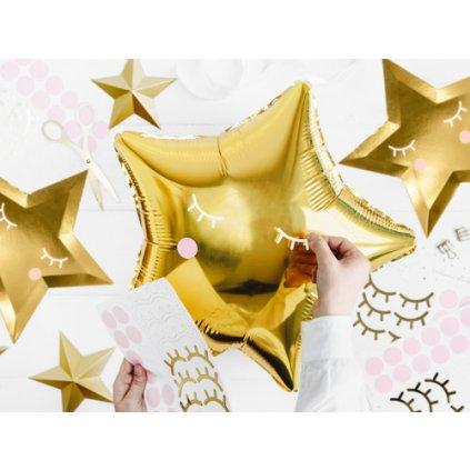 Sada samolepek Little Star na fóliové balonky - 24 ks