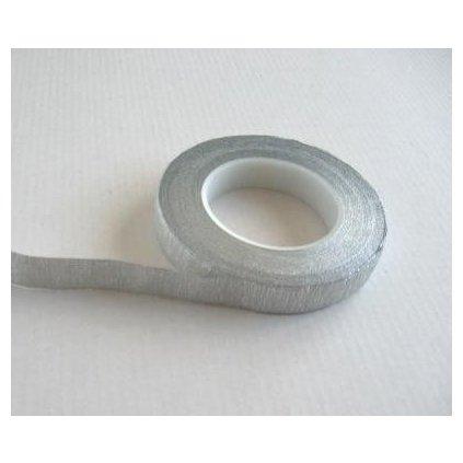 Floristická páska stříbrná