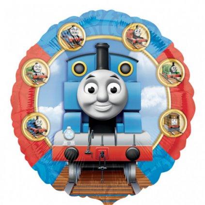 Foliový balonek Mašinka Tomáš 43 cm