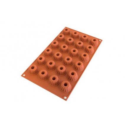 Silikonová forma na čokoládu mini bábovky 240ml na 24ks - Silikomart