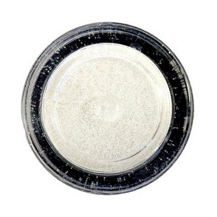 Dekorativní prachová glitterová barva Sugarcity (10 ml) White Glitter