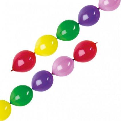 Spojovací balonky mix 28 cm - 10 ks