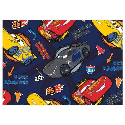 Balící papír Disney: CARS BLUE 2ks 100x70cm
