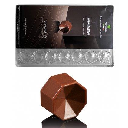 Forma na pralinky (oktagon 11g) 4x7 tvarů/forma