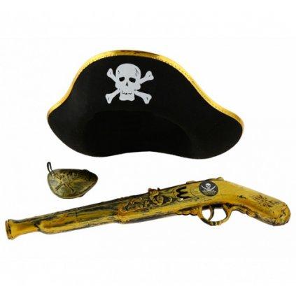Pirátský set 3 ks
