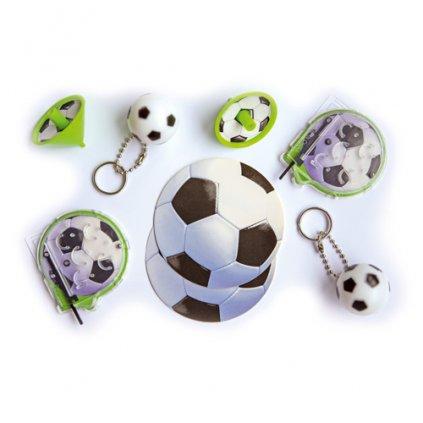 Party hračky Fotbal 24 ks
