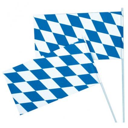 Plastová vlaječka Oktoberfest 12 x 23 cm