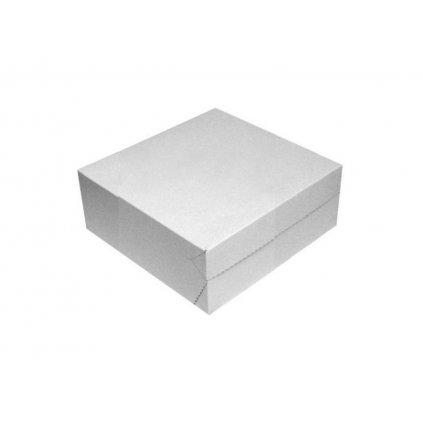 Dortová krabice 23 x 23 x 10 - pevná