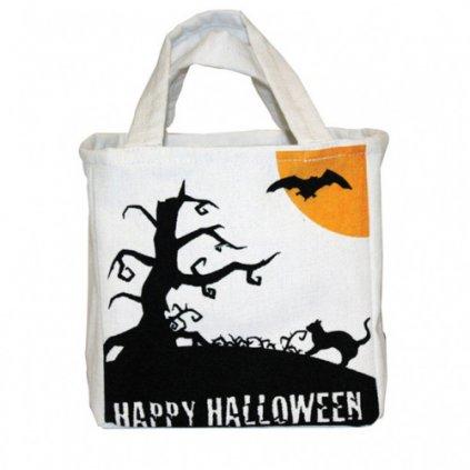 Látková taška Happy Halloween 16 x 26 cm