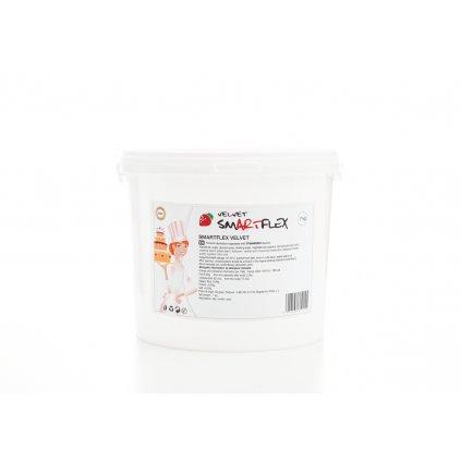 Smartflex Velvet Jahoda 7 kg (Potahovací a modelovací hmota na dorty)