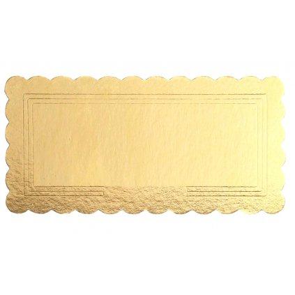 pevna podlozka na rolady zlata 15 x 30 cm 10802 2