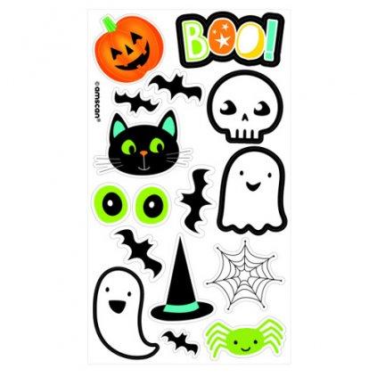 Dětské tetování Halloween 16 ks