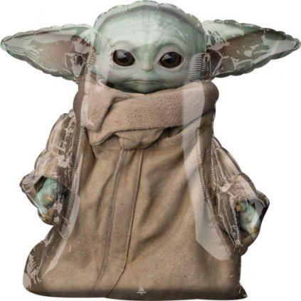 Chodící balonek Mandalorian - Yoda 78 cm