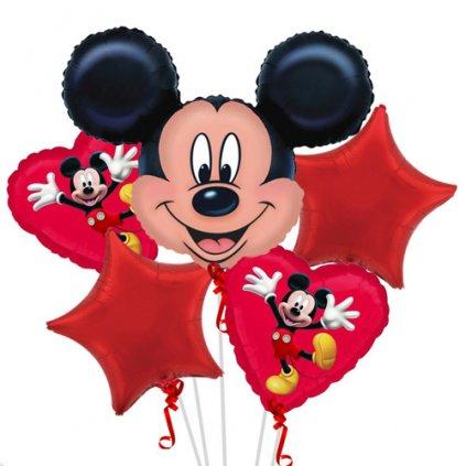 Balonkový buket Mickey Mouse EKO - 5 ks