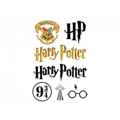 harry potter logo sheet