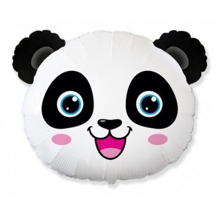 Foliový balonek hlava - Panda 61 cm