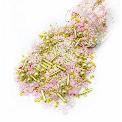 Cukrové zdobení Happy Sprinkles PRINCESS DIARY, 90g /LS-34724