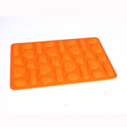 Silikonová forma na pracky - různé tvary
